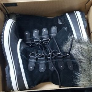 Sorel Joan of Arctic Black Quarry Women Size 9